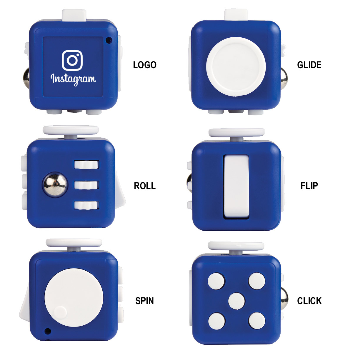 Fidget Cube With Your Branding Rated